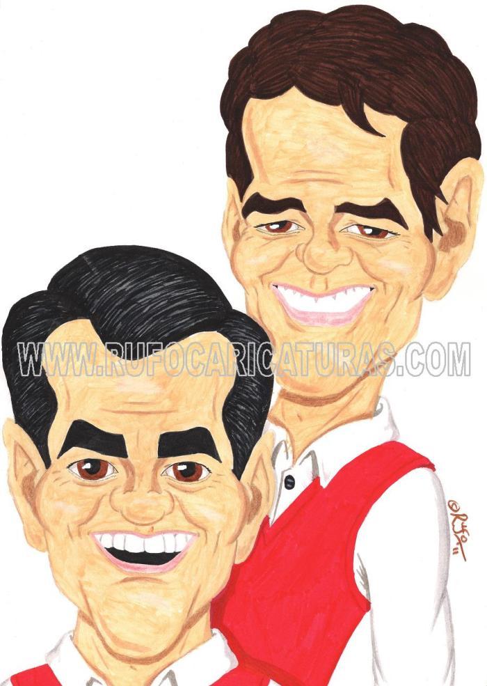 duo_dinamico_caricatura