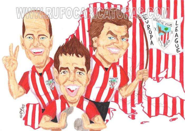 toquero_muniain_llorente_caricatura