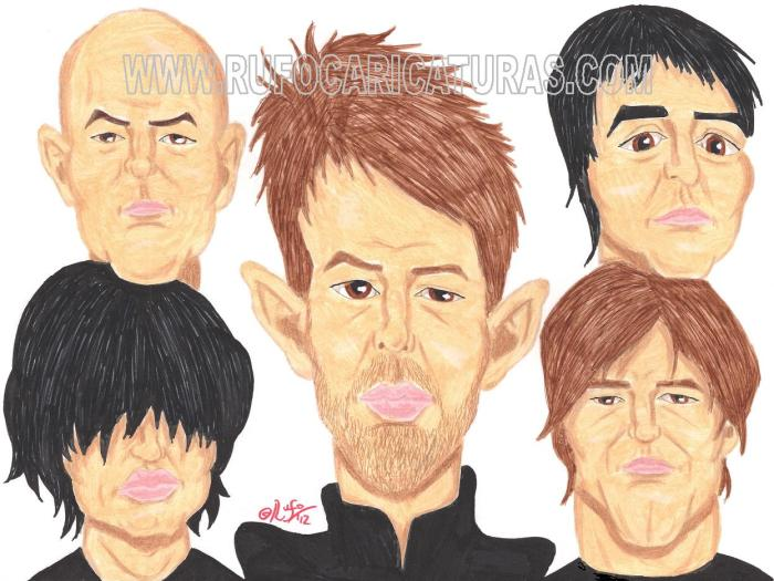 radiohead_caricatura