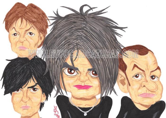 the_cure_caricatura
