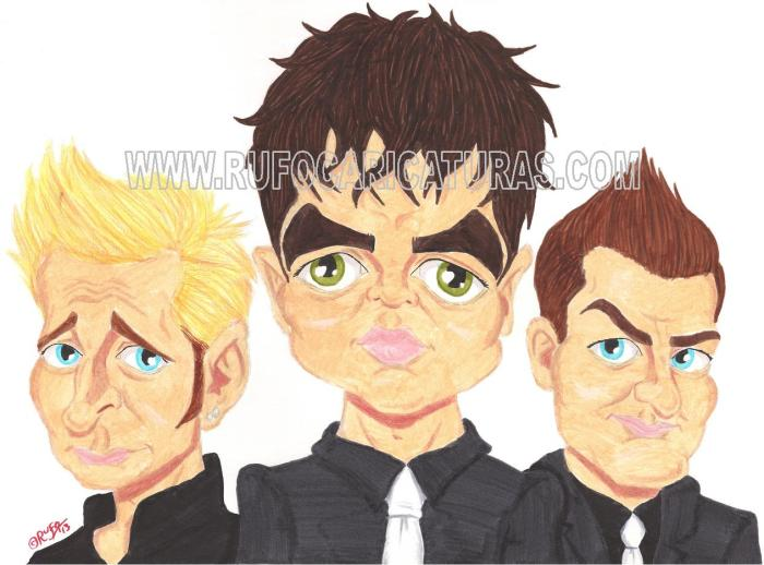 green_day_caricatura