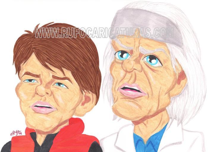 regreso_al_futuro_caricatura