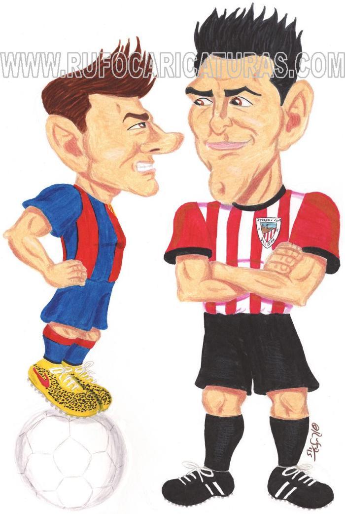Leo_messi_aritz_aduriz_caricatura