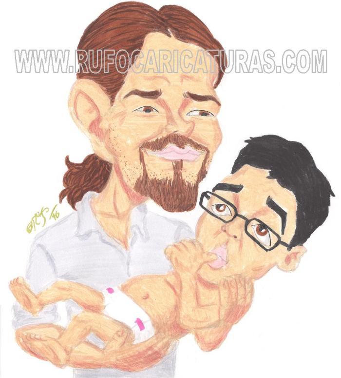 pablo_iglesias_iñigo_errejon_caricatura